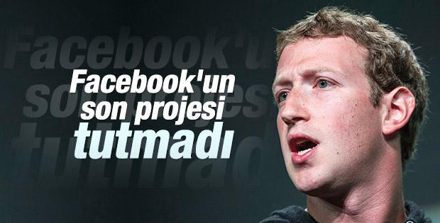 Facebook alt uygulamalarını kaldırdı