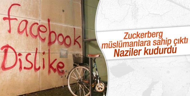 Almanya'da Facebook merkezine saldırı