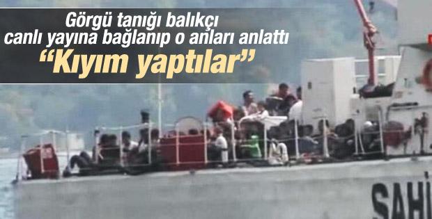 Balıkçı İstanbul Boğazı'nda batan tekne faciasını anlattı İZLE