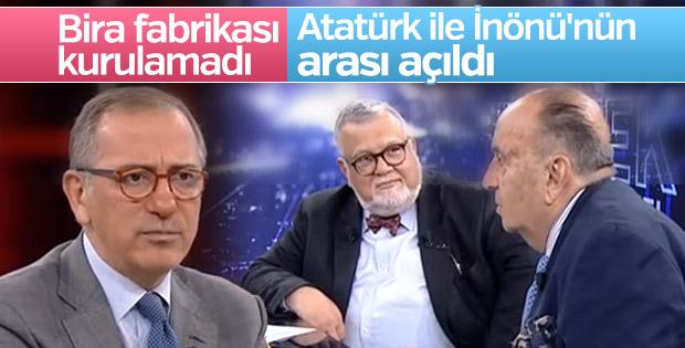 Atatürk ile İnönü'nün arasını açan bira meselesi