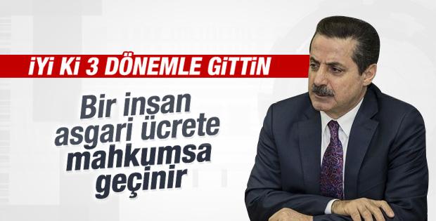 Çalışma Bakanı Faruk Çelik asgari ücretle geçinilir dedi