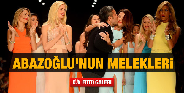Fashion Week İstanbul'da Abazoğlu rüzgarı