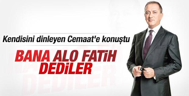 Fatih Altaylı Alo Fatih'le karıştırılmaktan rahatsız