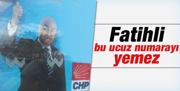 Fatih'ten CHP adayı olan Erbakan'dan Milli Görüşlü pozu