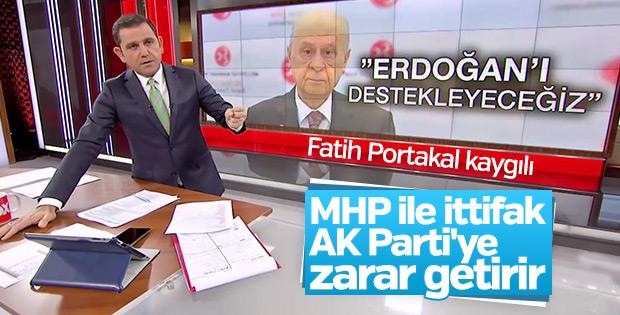 Fatih Portakal AK Parti-MHP ittifakını değerlendirdi
