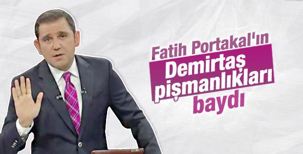Fatih Portakal yine Demirtaş'a kızdı
