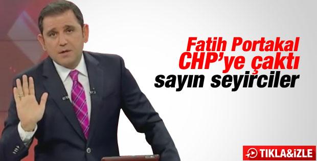 Fatih Portakal'dan ağaç kesen CHP'li belediyeye tepki