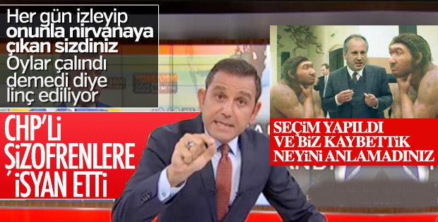 Fatih Portakal, CHP'lilere isyan etti