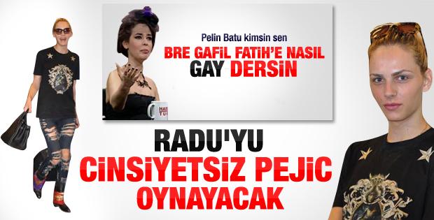 Fatih dizisinin 'Güzel Radu'su İstanbul'da