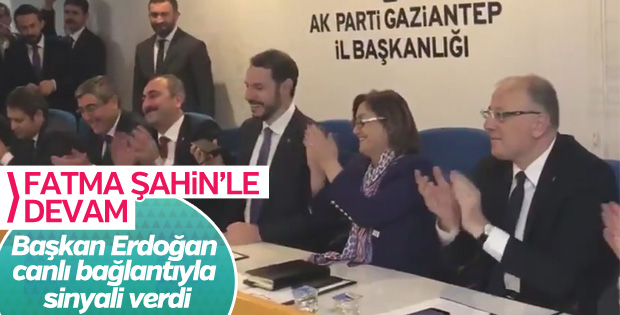 Başkan Erdoğan'dan Gaziantep adayı için ipucu