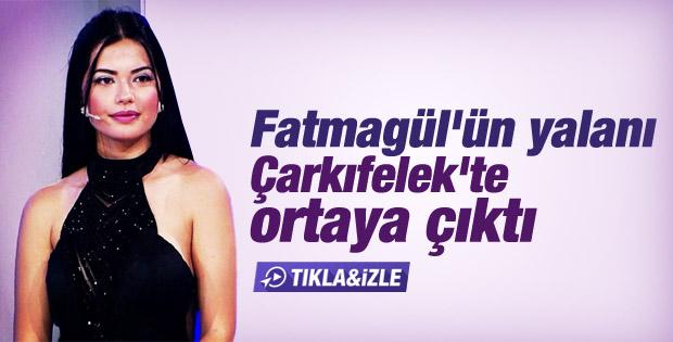 Fatmagül Fakı'nın gözleri lens çıktı İZLE