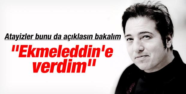 Fazıl Say: Oyum Ekmeleddin'e