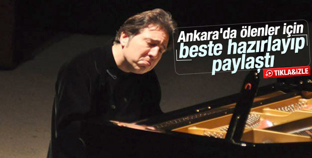 Fazıl Say Ankara saldırısı için beste yaptı