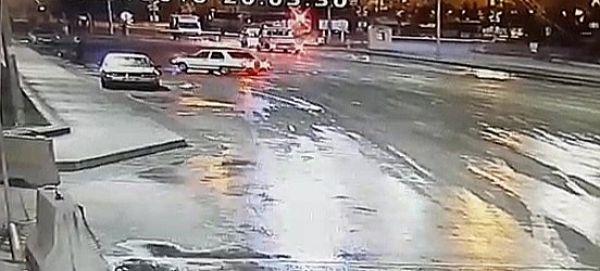 Karabük'te drift atan sürücüye para cezası