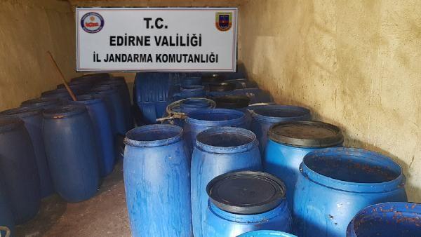 Edirne'de sahte içki imalatçısına milyonluk ceza