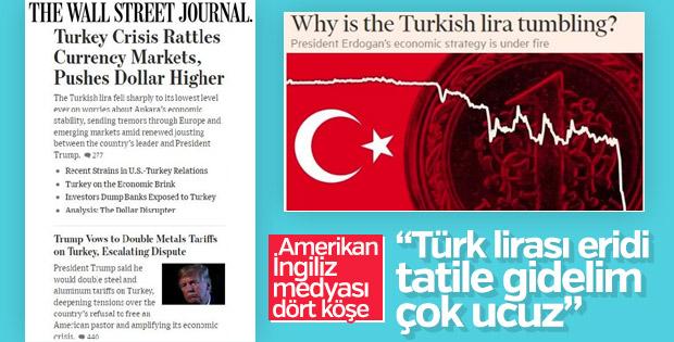 Türkiye-ABD krizi İngilizleri sevindirdi