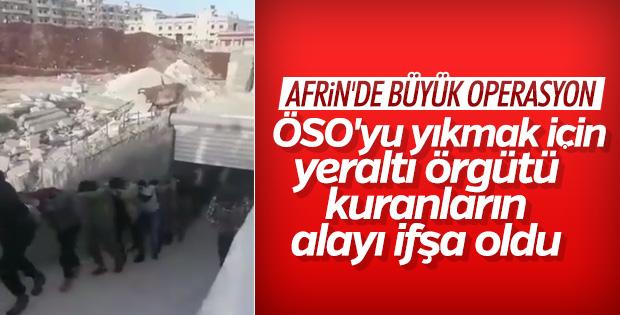 Afrin'de suç örgütleri bir bir teslim oluyor