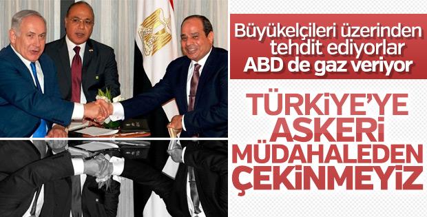 İsrail ve Mısır büyükelçilerinden Türkiye'ye tehditler