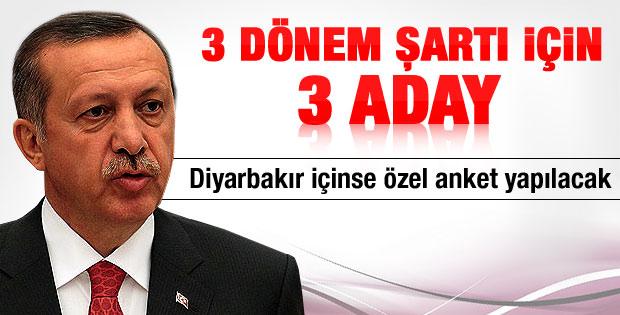 AK Parti'de 3 dönem şartından 3 aday
