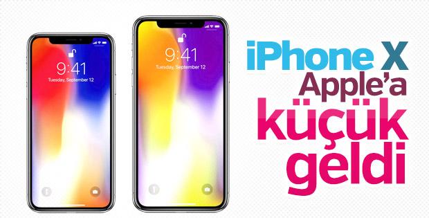 iPhone X büyüyecek