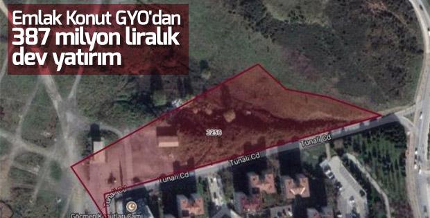 Emlak Konut GYO Beşiktaş ve İkitelli'den arsa aldı