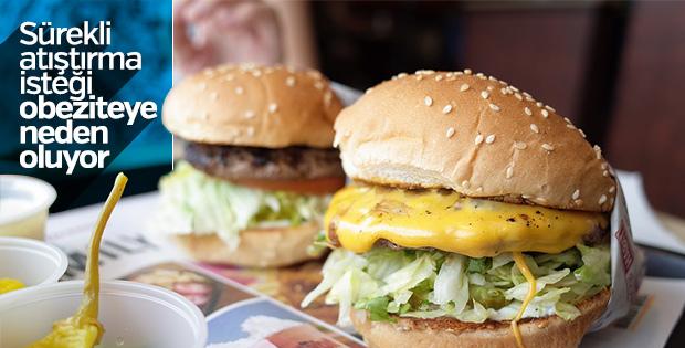 Aşırı yeme isteği obeziteyi tetikliyor