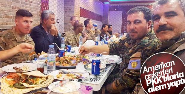 ABD ordusu PKK ile aynı masaya oturdu