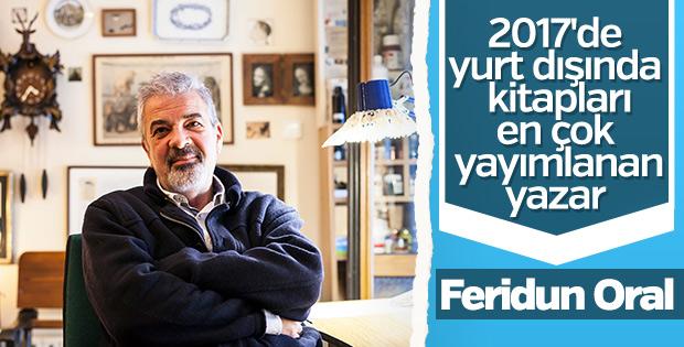 Yurt dışında kitapları en çok yayımlanan yazar: Feridun Oral