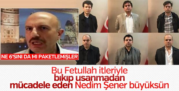 Nedim Şener, sosyal medyada FETÖ'cüleri sıkıştırdı