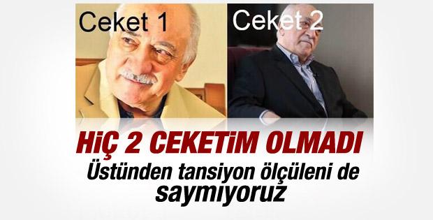 Fethullah Gülen hiç 2 ceketim olmadı diyor ama..