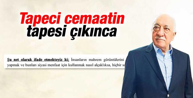 Fethullah Gülen'den kaset açıklaması