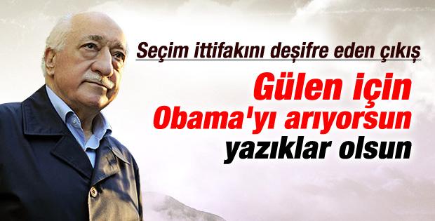 Gülen'i eleştiren Erdoğan'a tepki Sarıgül'den geldi