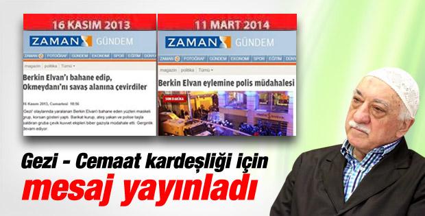 Fethullah Gülen'den Berkin Elvan için taziye mesajı