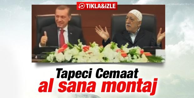 Gülen'den Erdoğan'a montajlı destek videosu İZLE