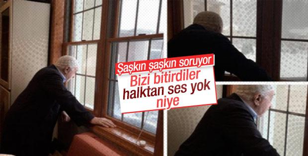 Fethullah Gülen'den 'yalnız kaldık' çıkışı