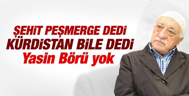 Fethullah Gülen'den peşmergelere taziye mesajı