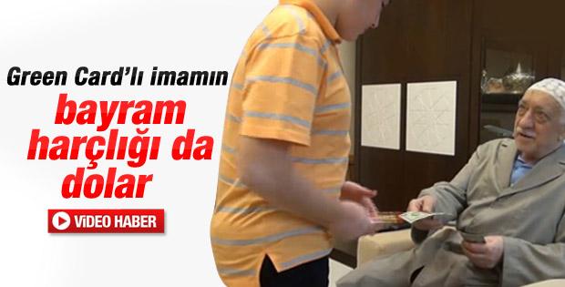 Fethullah Gülen bayram harçlığı dağıttı