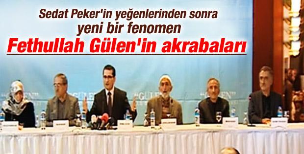 Fethullah Gülen'in akrabalarından basın açıklaması