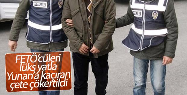 FETÖ'cüleri lüks yatla yurt dışına kaçıranlara operasyon