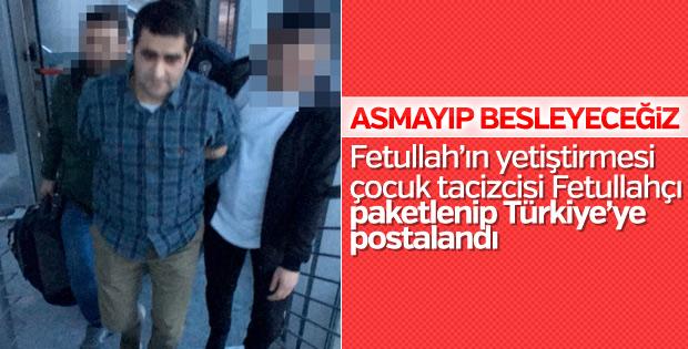 Pedofiliden suçlu bulunan FETÖ'cü Türkiye'de