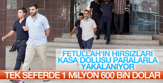 FETÖ evinden 1 milyon 600 bin dolar çıktı