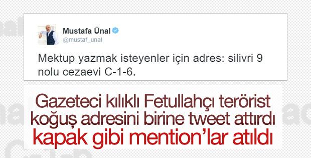 FETÖ'cü olan sözde gazetecinin Silivri tweet'i