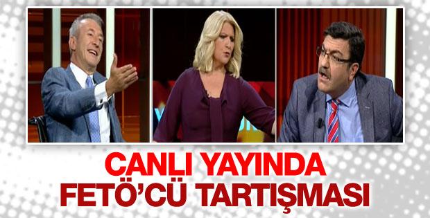 CNN Türk canlı yayınında FETÖ'cü gerginliği