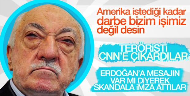FETÖ'nün elebaşı Fethullah Gülen CNN'e konuştu