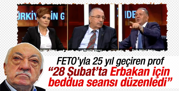 FETÖ elebaşı Gülen Necmettin Erbakan'a beddua etti