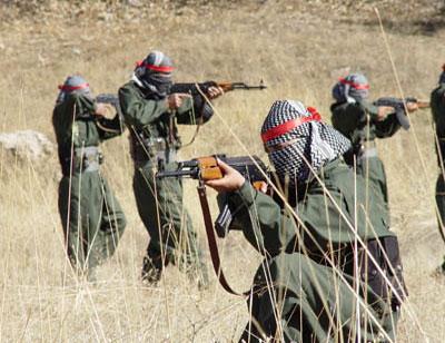 Şırnak'ta PKK taciz ateşi açtı