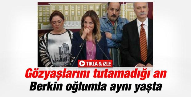 CHP'li vekil Aylin Nazlıaka gözyaşlarını tutamadı İZLE