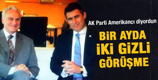 Metin Feyzioğlu ABD Büyükelçisi ile 3.5 saat görüştü