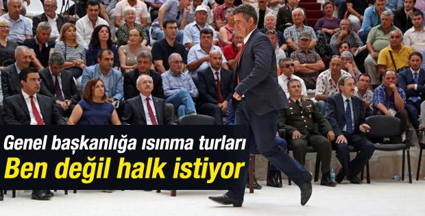 CHP genel başkanlığına ismi geçen Feyzioğlu konuştu
