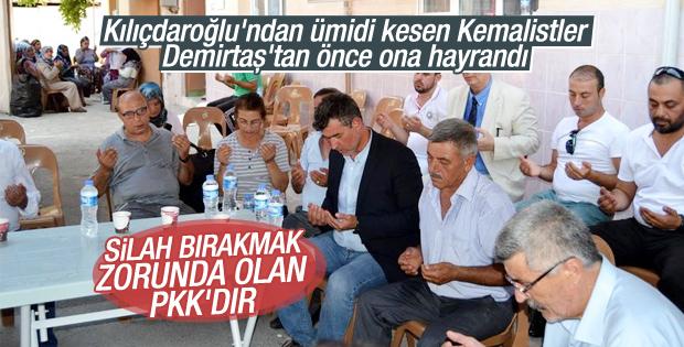 Metin Feyzioğlu Manisa'da şehit ailelerini ziyaret etti